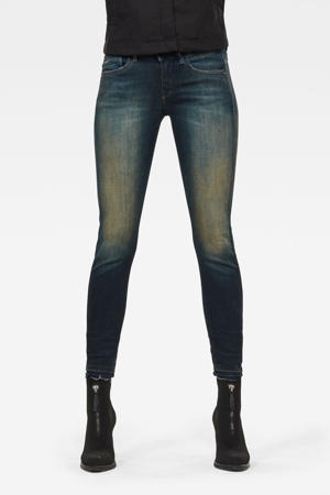 Lynn cropped skinny jeans antic blight green