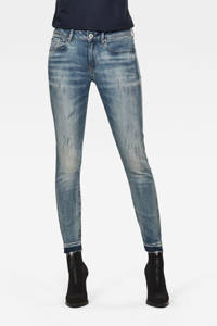 G-Star RAW 3301 skinny jeans antic faded lapo blue destroyed