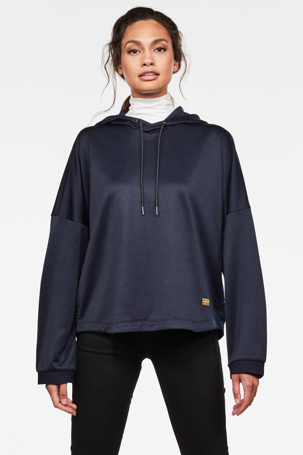 G-Star RAW hoodie Vemery vintage navy cobler