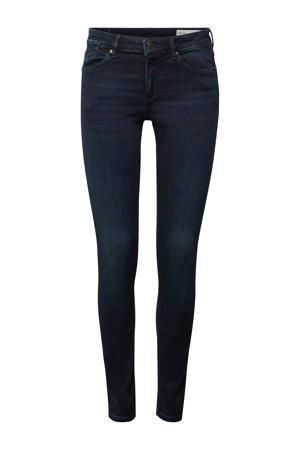 skinny jeans met biologisch katoen blauw