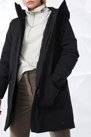 parka jas zwart
