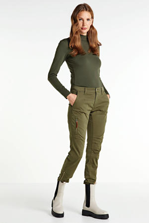 regular fit broek olive night