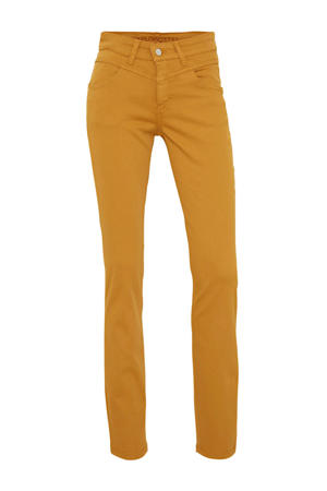 slim fit broek Dream dark curry
