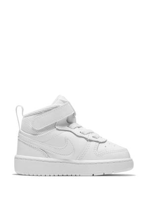 COURT BOROUGH MID 2 (TDV) leren sneakers wit