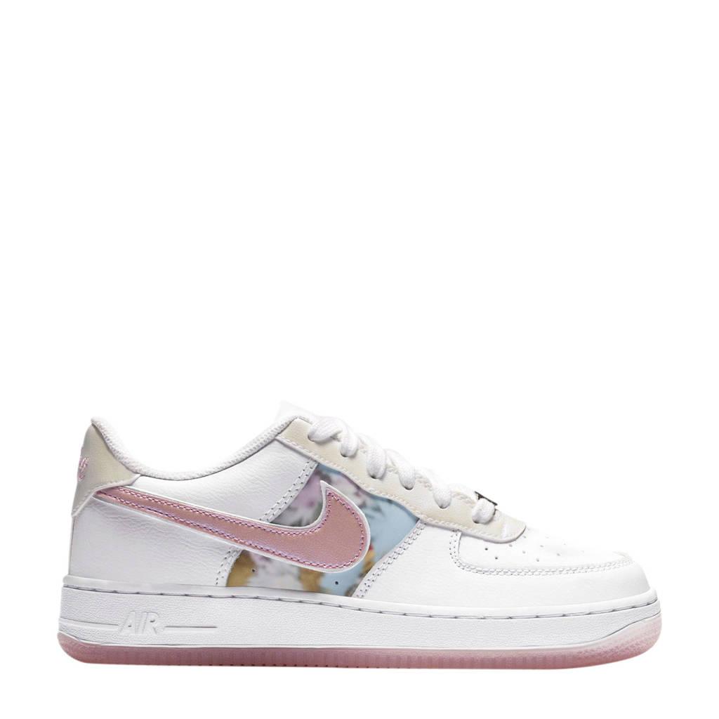 Nike Air Force 1 VL8 - GS sneakers wit/roze/zilver, Wit/roze/zilver