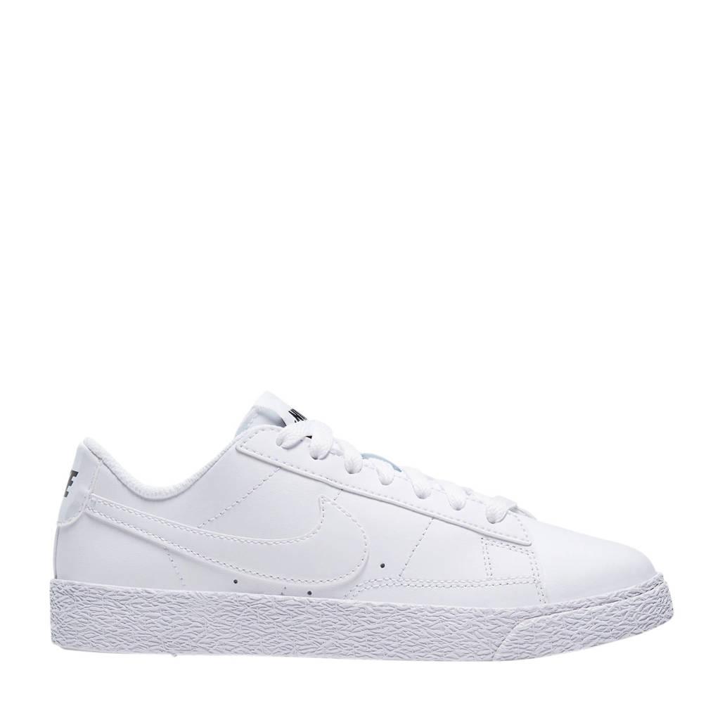 Nike Blazer Low (GS) leren sneakers wit, Wit