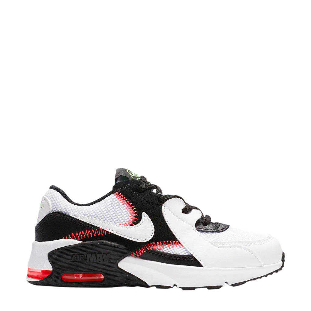 Nike Air Max Excee (PS) sneakers wit/zwart/rood, Wit/zwart/rood