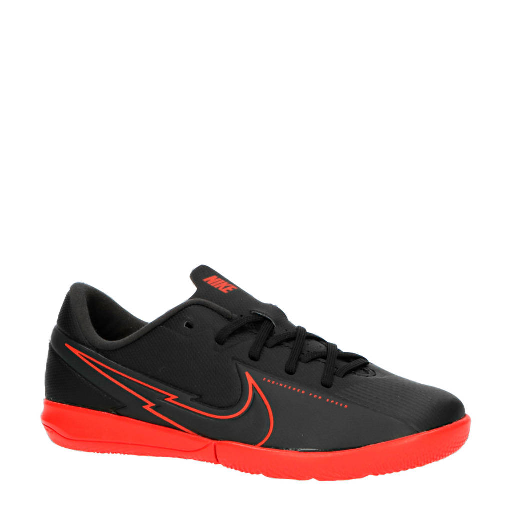 Nike Mercurial Vapor 13 Academy IC Jr. zaalvoetbalschoenen zwart/rood, Zwart/rood