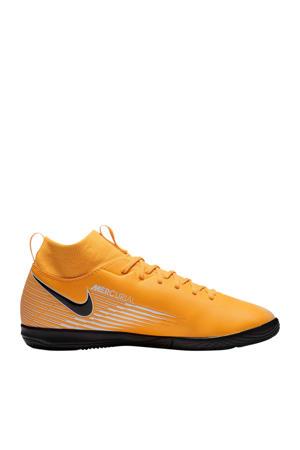Mercurial Superfly 7 Academy IC Jr. voetbalschoenen geel/zwart/wit