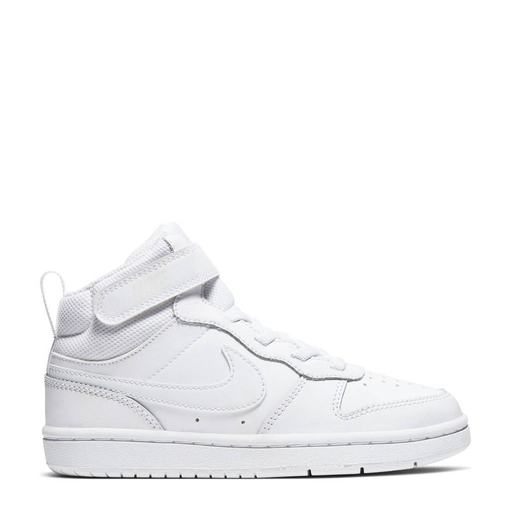 Nike COURT BOROUGH MID 2 (PSV) leren sneakers wit, Wit