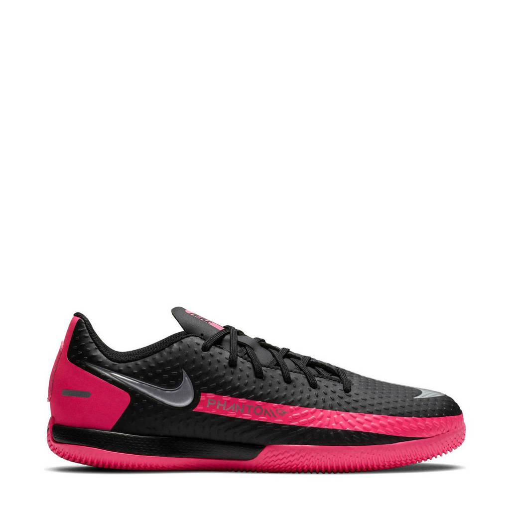 Nike Phantom GT Academy IC Jr. zaalvoetbalschoenen zkwart/fuchsia, Zwart/fuchsia