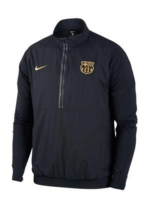 Senior FC Barcelona voetbalvest zwart