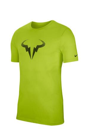 sport T-shirt lichtgroen
