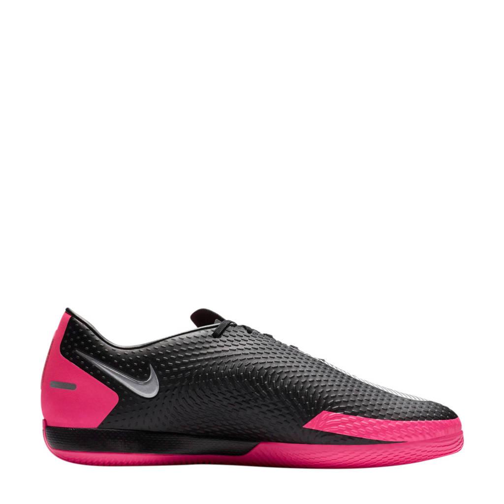 Nike Phantom GT Academy IC Sr. zaalvoetbalschoenen zwart/fuchsia, Zwart/fuchsia