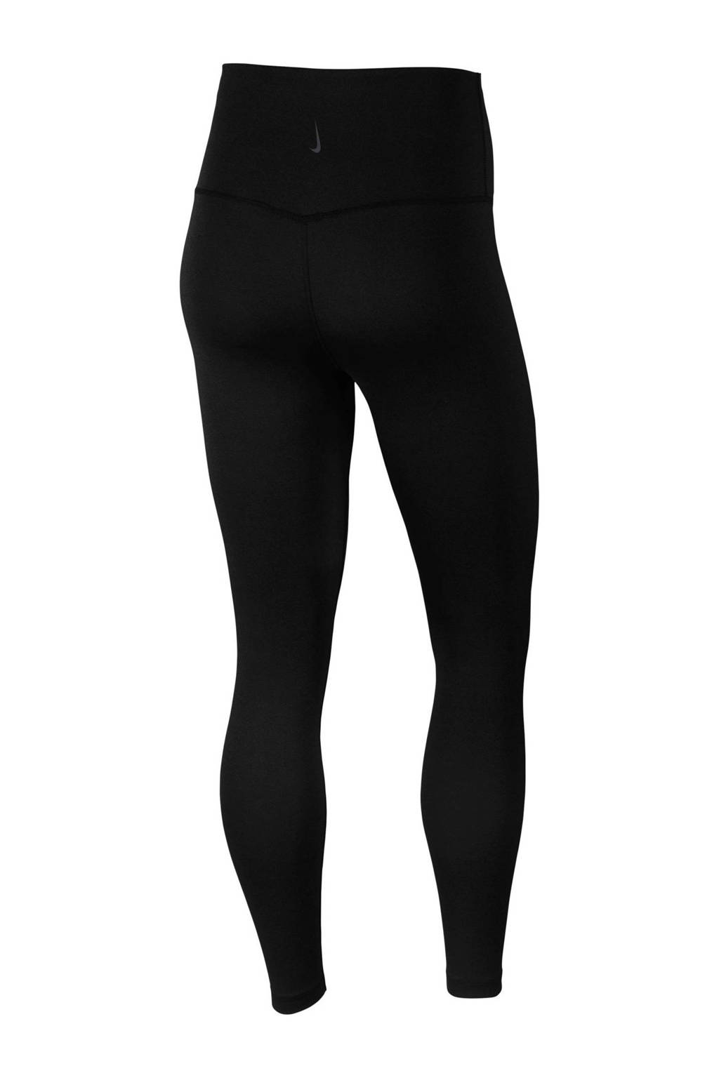 Nike 7/8 sportbroek zwart, Zwart/donkergrijs
