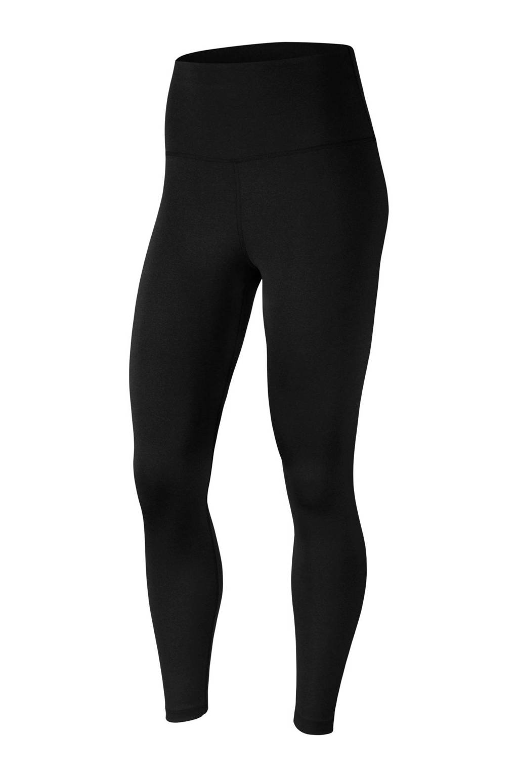Nike 7/8 sportlegging zwart, Zwart/donkergrijs