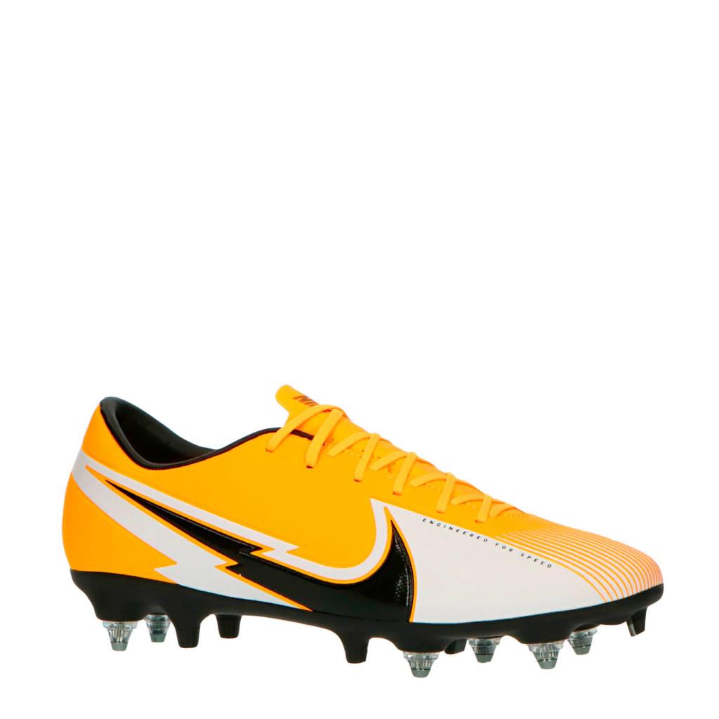 Nike Vapor 13 Academy SG-Pro AC sr voetbalschoenen oranje/zwart/wit, Oranje/zwart/wit
