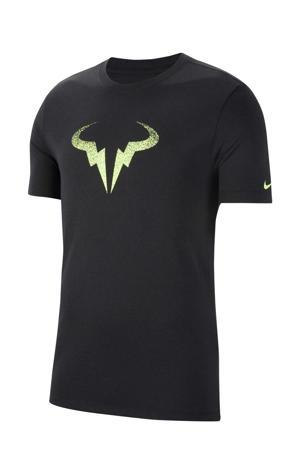 Rafael Nadal tennisshirt zwart