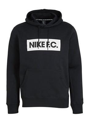 Senior  voetbal hoodie zwart