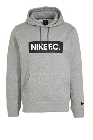 Senior  voetbal hoodie grijs