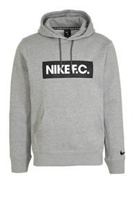 Nike Senior  voetbal hoodie grijs, Grijs
