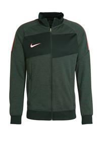 Nike Senior  Academy voetbalvest antraciet/roze, Antraciet/roze