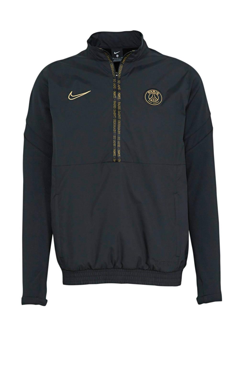 Nike Senior Paris Saint Germain Voetbalvest zwart/goud, Zwart/goud