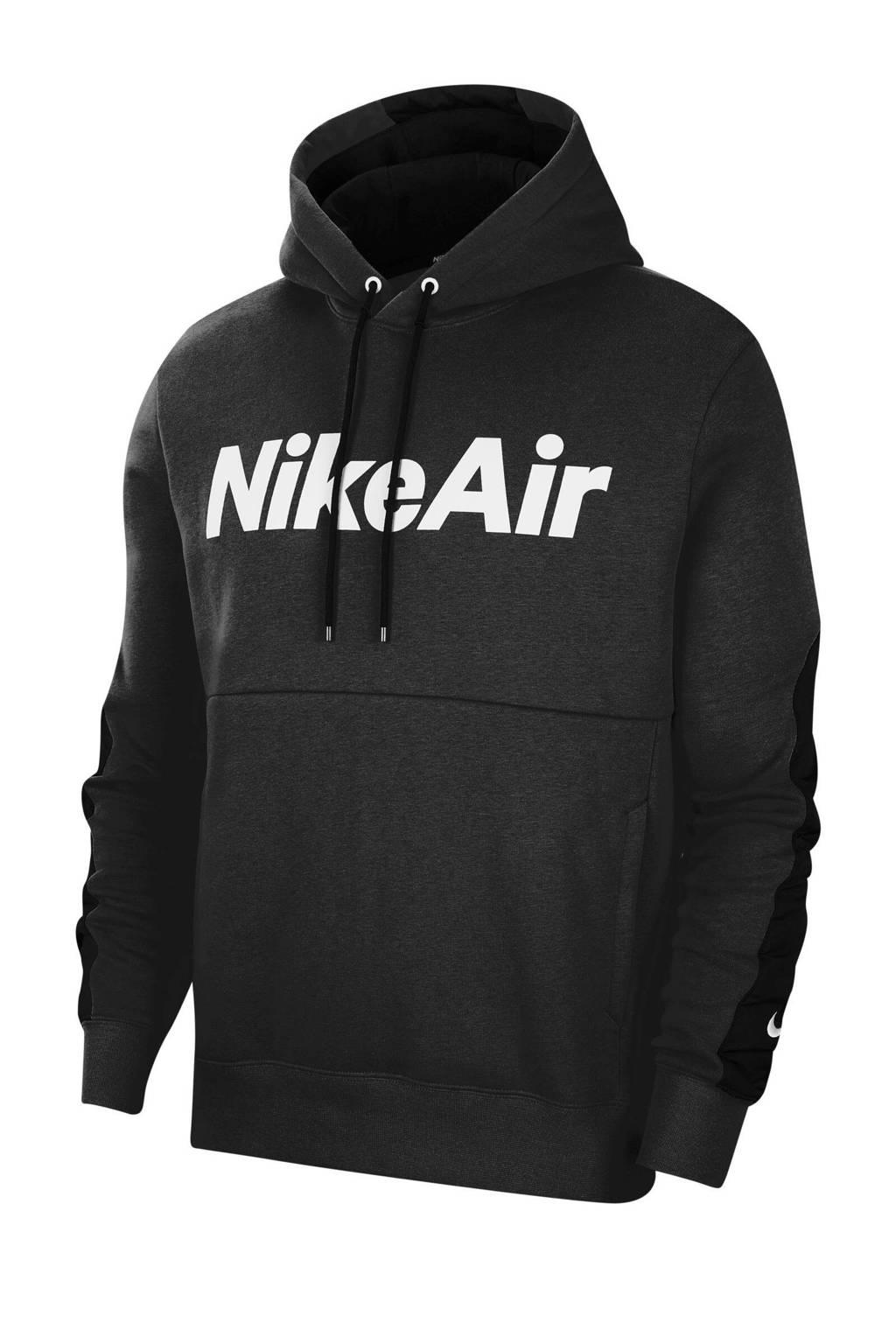 Nike hoodie zwart, Zwart