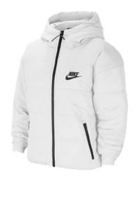 Nike gewatteerde jas wit, Wit