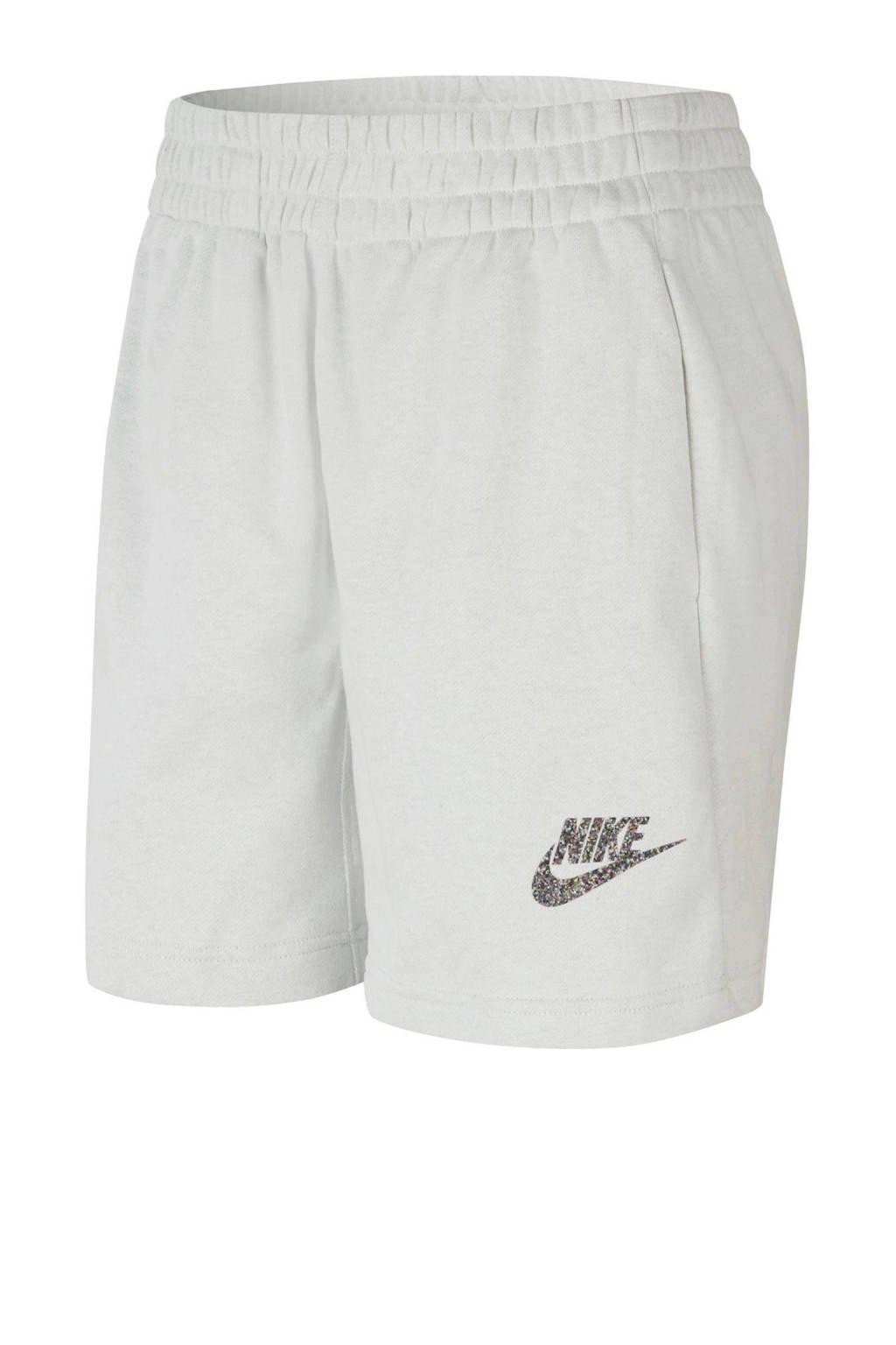 Nike sweatshort lichtgrijs, Lichtgrijs