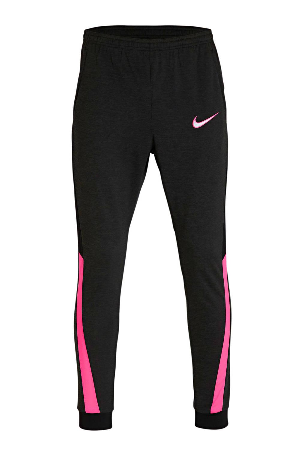 Nike Senior  Academy voetbalbroek zwart/roze, Zwart/roze