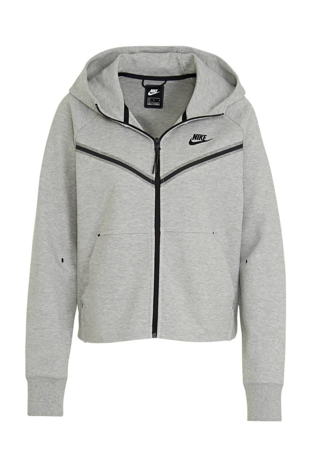 Nike sweatvest grijs, Grijs