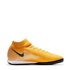 Mercurial Superfly 7 Academy IC Sr. voetbalschoenen geel/zwart/wit