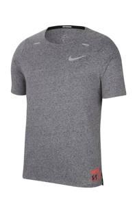 Nike   hardloopshirt grijs melange, Grijs melange