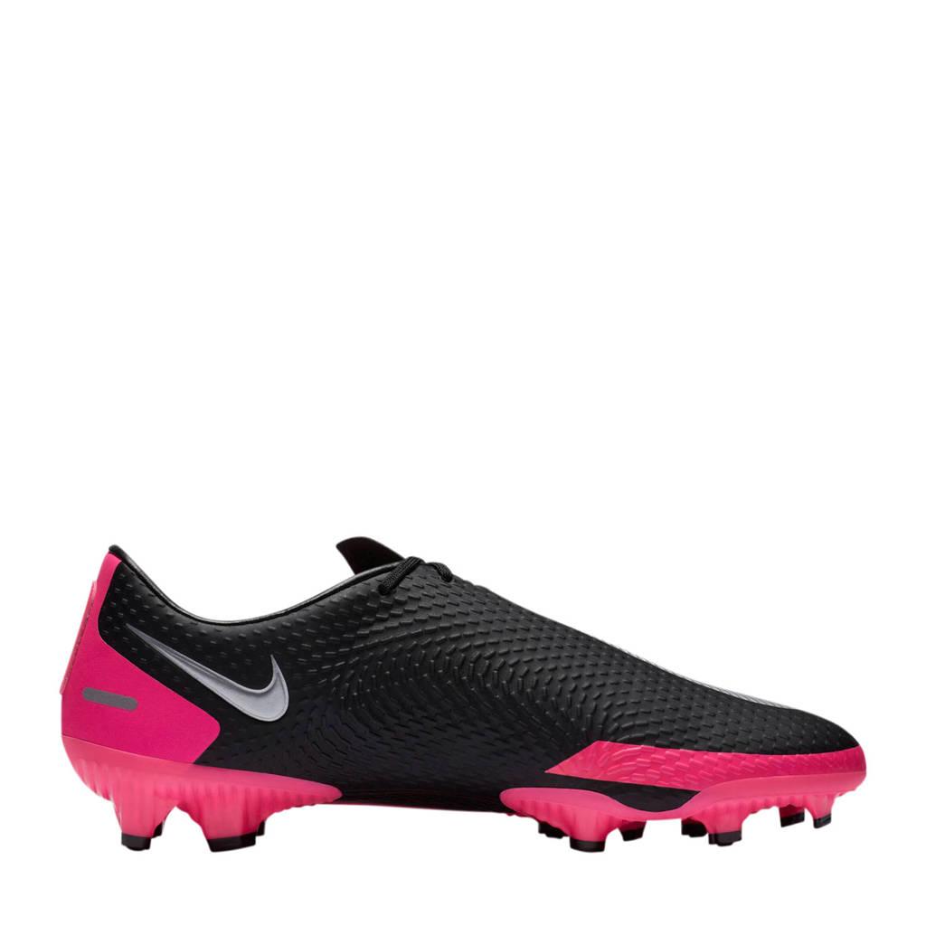 Nike Phantom GT Academy  FG/MG Sr. voetbalschoenen zwart/fuchsia, Zwart/fuchsia