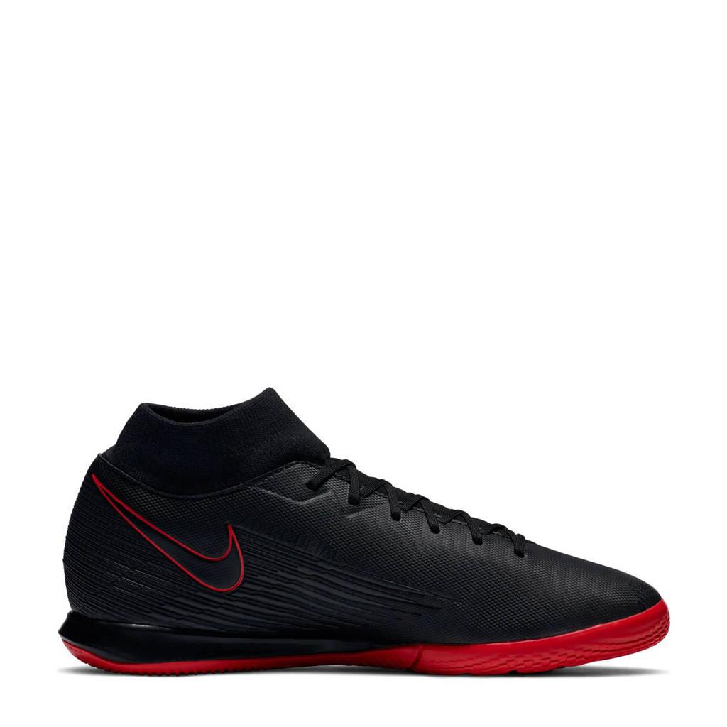 Nike Mercurial Superfly 7 Academy IC Sr. voetbalschoenen zwart/rood/grijs, Zwart/rood/grijs