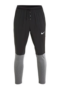 Nike   hardloopbroek zwart/zilver, Zwart/zilver