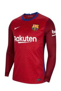 Nike Senior FC Barcelona thuis keepers longsleeve rood, Rood