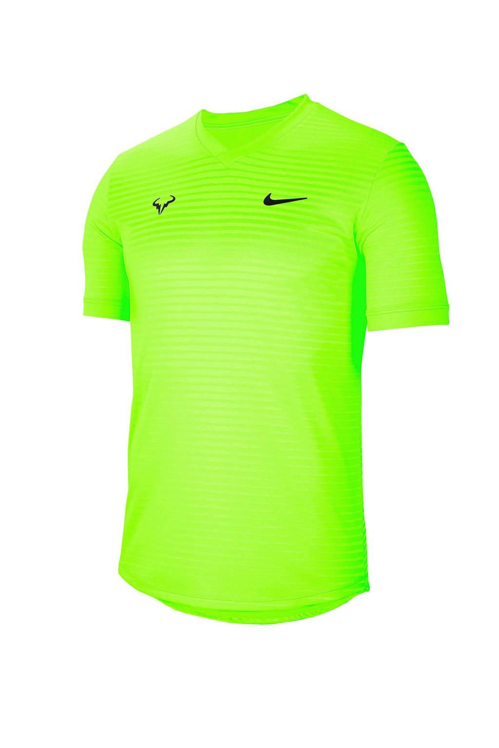 Nike   sport T-shirt limegroen, Limegroen