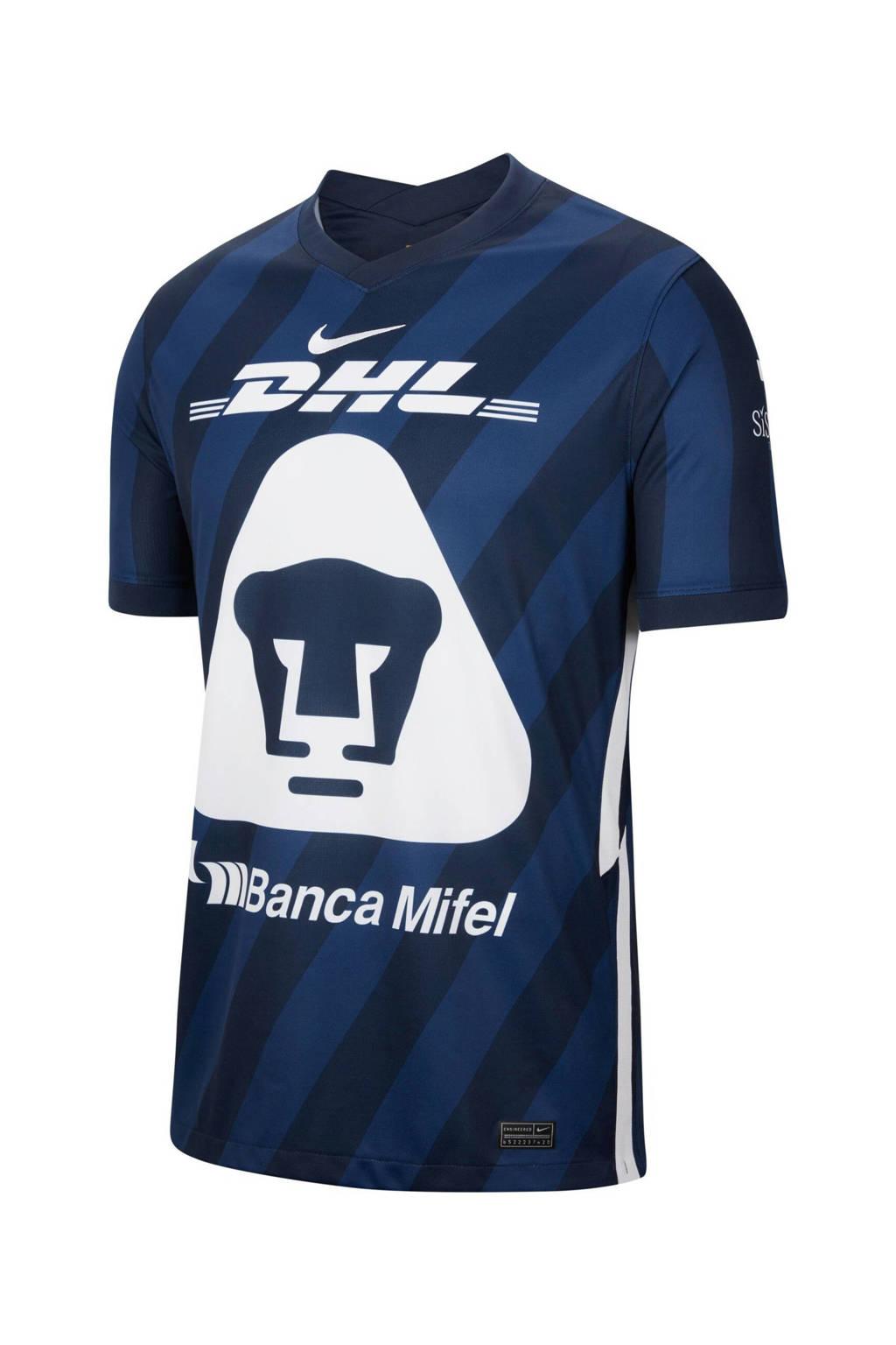 Nike Senior  Pumas UNAM voetbal T-shirt donkerblauw, Donkerblauw