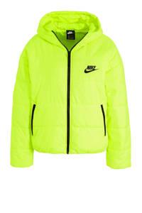 Nike gewatteerde jas limegroen, Limegroen