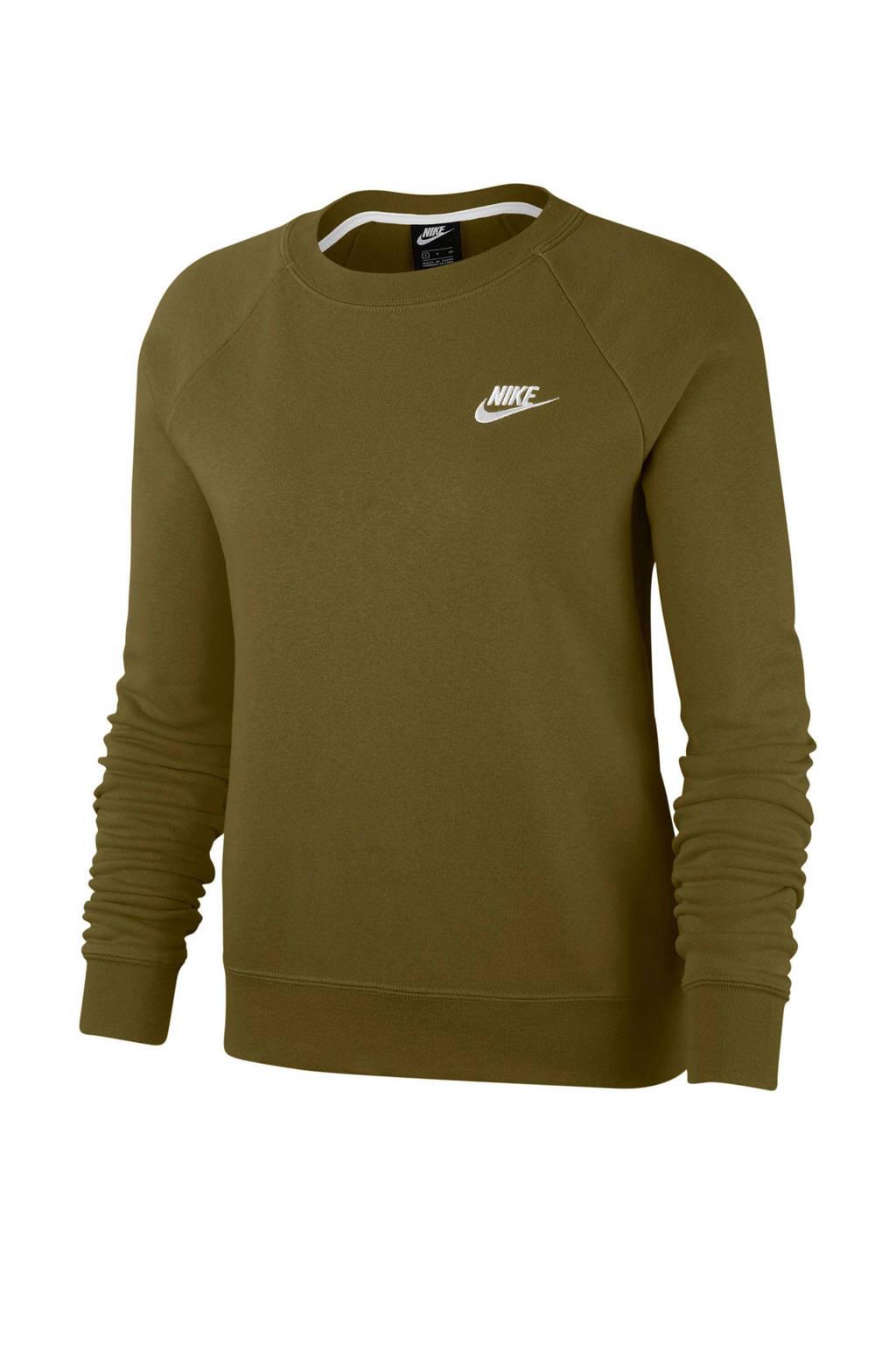 Nike sweater kaki, Kaki