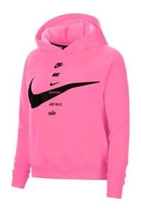 Nike hoodie roze/zwart, Roze/zwart