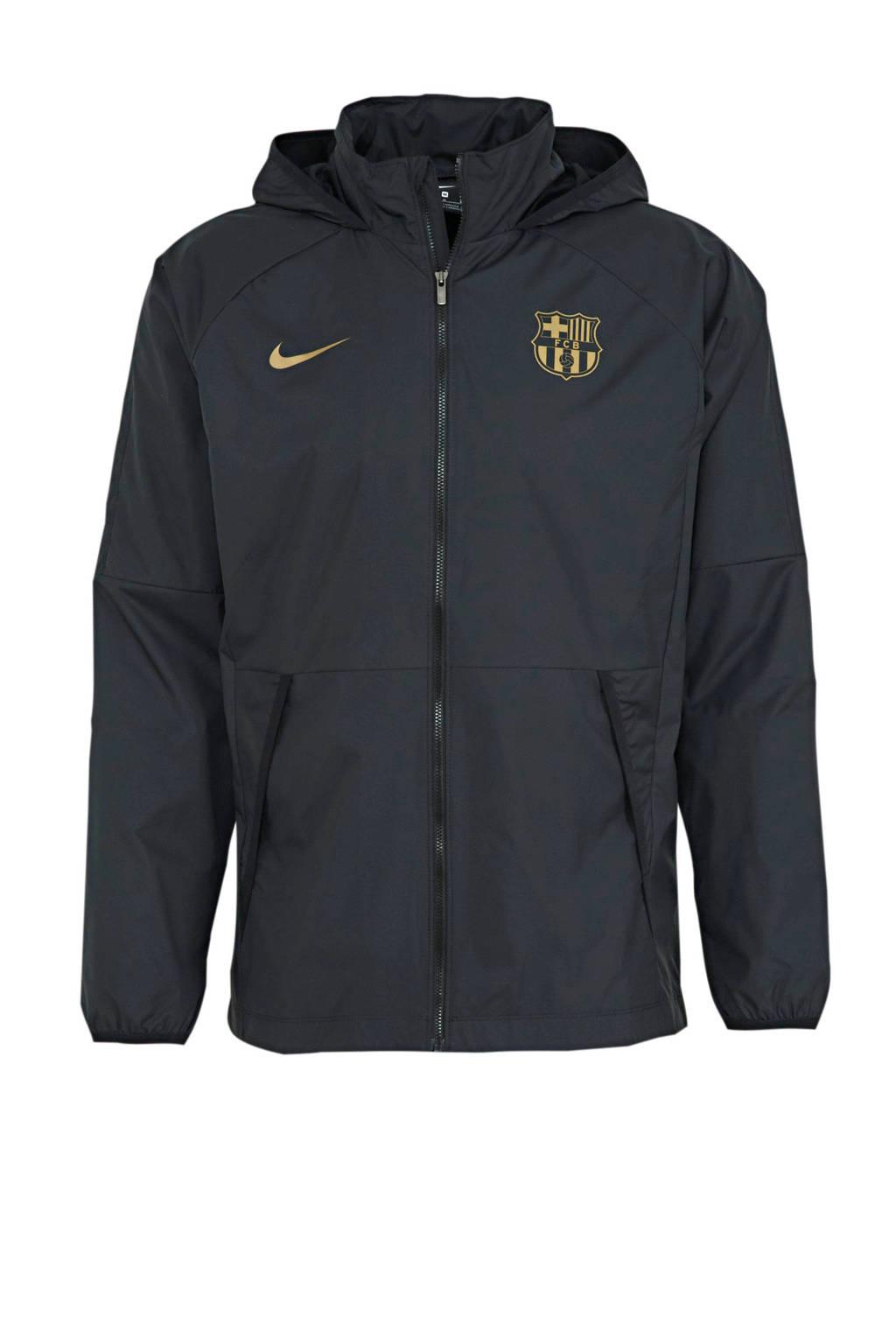 Nike Senior FC Barcelona Voetbalvest zwart/goud, Zwart/goud