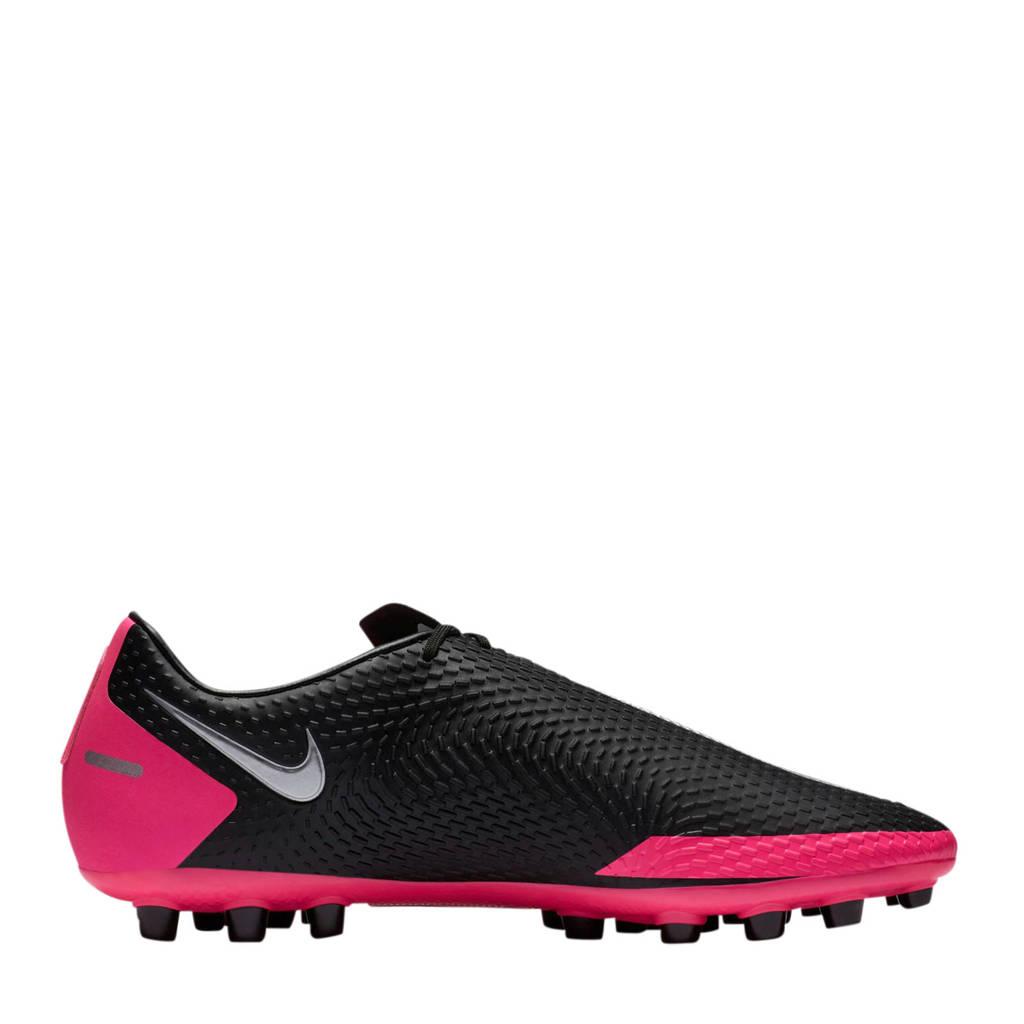 Nike Phantom GT Academy AG voetbalschoenen zwart/fuchsia, Zwart/fuchsia