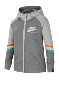Nike vest grijs melange, Grijs melange