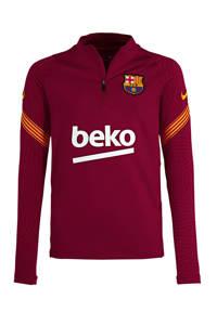 Nike Junior FC Barcelona voetbalshirt, Rood