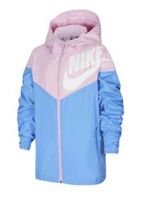 Nike jack lila/blauw, Lila/blauw