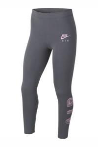 Nike legging grijs/roze, Grijs/roze