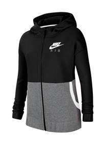 Nike vest zwart/grijs melange, Zwart/grijs melange